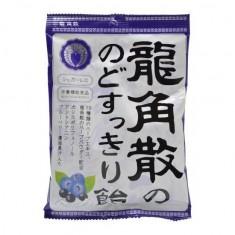 용각산 목 깔끔한 사탕 카시스 & 블루 베리 75g